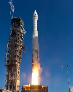 Launch of Atlas V LDCM, from Vandenberg AFB, California