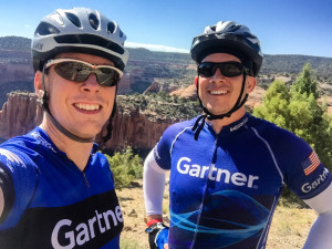 Rob Ison and me at Colorado National Monument