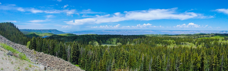 View from the top of Grand Mesa