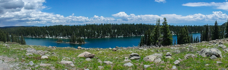 Mountain lake on Grand Mesa
