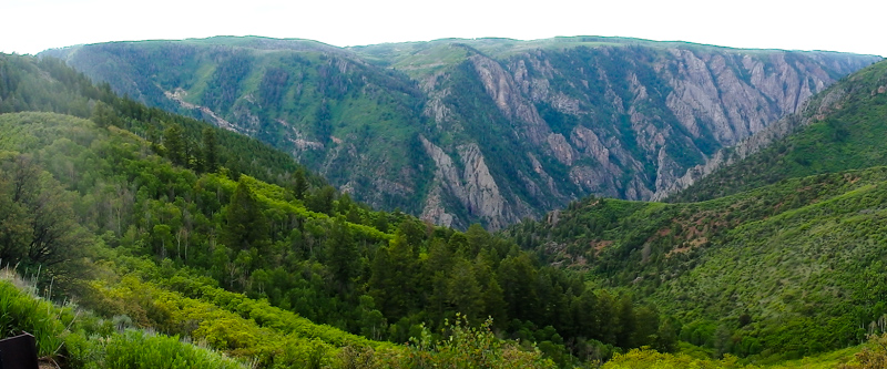 Another panoramic of the Black Canyon
