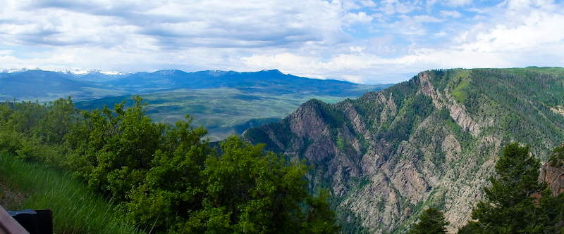 Panoramic of the Black Canyon