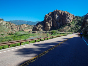 A view from Route 50 en route to Cañon City