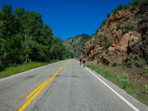More climbing up Hardscrabble Pass