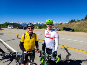 Steve and I atop Ute Pass