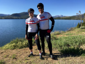 Rob and Allison - Two riders on Team WBR